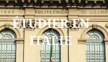 Etudier en Italie